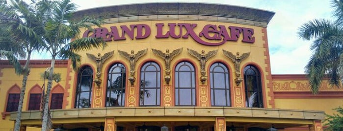 Grand Lux Cafe is one of Must-visit Food in Sunrise.