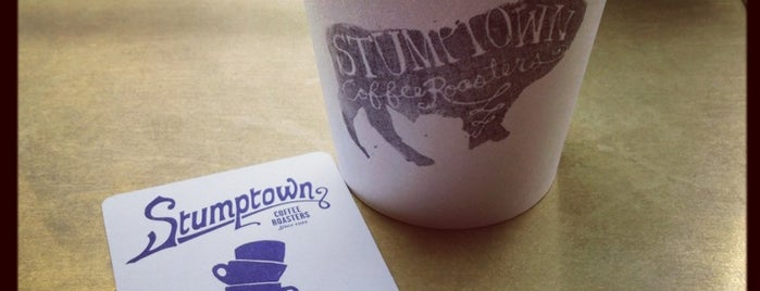 Stumptown Coffee Roasters is one of Legitimate Espresso & Coffee.