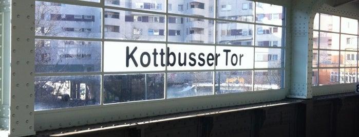 U Kottbusser Tor is one of Besuchte Berliner Bahnhöfe.