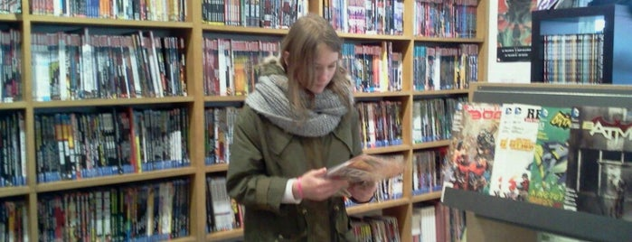 Pulp's Comics is one of Libraries and Bookshops.