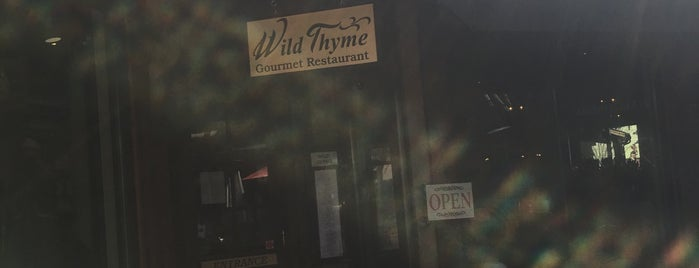 Wild Thyme Gourmet is one of Road Trip.