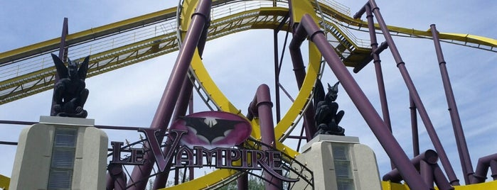 Vampire is one of ROLLER COASTERS.