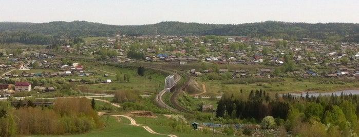 Шамары is one of Транссибирская магистраль.