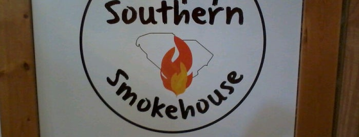 Simply Southern Smokehouse is one of South Carolina Barbecue Trail - Part 1.
