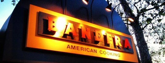 Bandera is one of My Eat's.