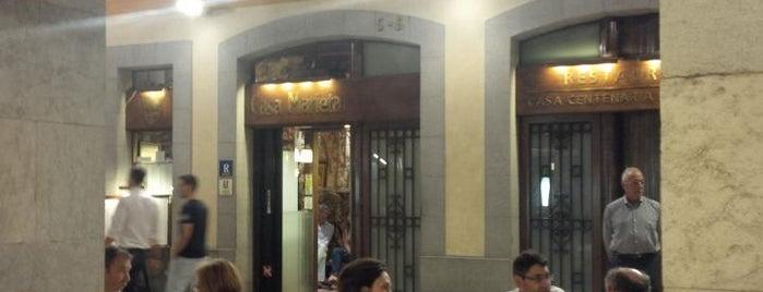Casa Marieta is one of Restaurants de Catalunya.