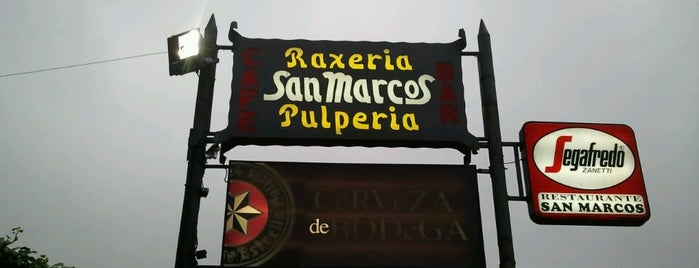 Raxeria San Marcos is one of Ñam.