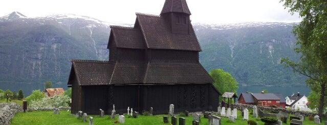 Urnes stavkirke is one of UNESCO World Heritage Sites.