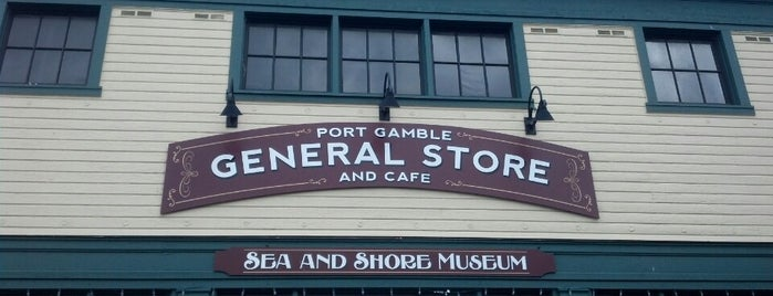 Port Gamble General Store and Cafe is one of Seattle To-Do.