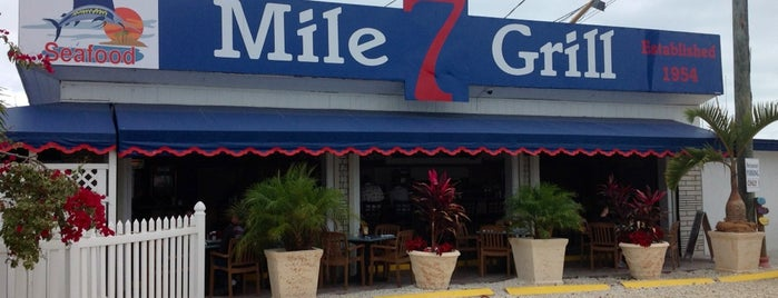 Seven Mile Grill is one of The Florida Keys.