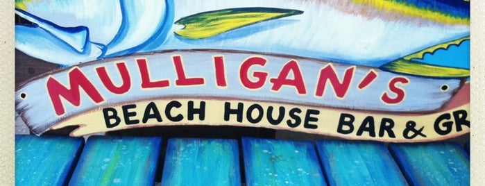 Mulligan's Beach House Bar & Grill is one of Ft Lauderdale to Stuart FL.