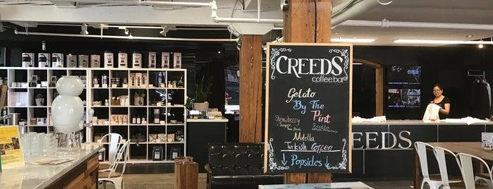 Creeds Coffee Bar is one of 2016 Toronto Indie Coffee Passport.