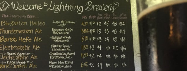 Lightning Brewery is one of San Diego Brewery and Beer Pubs.