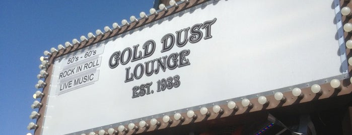 Gold Dust Lounge is one of Happy Hour? Happy day!.