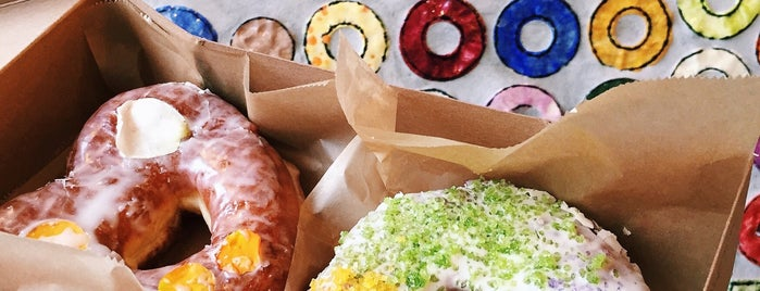 Doughnut Plant is one of NYC - Coffee, Sweets, Brunch.