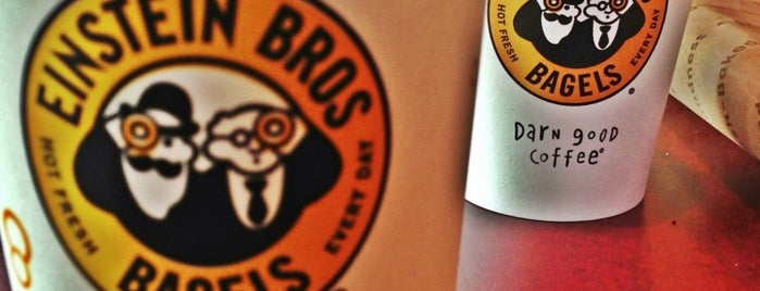 Einstein Bros Bagels is one of Places to Eat in Lake Mary/ Heathrow Area.
