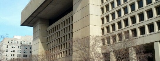 J. Edgar Hoover FBI Building is one of ♡DC.