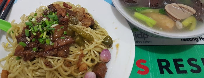Bakmie Aloy is one of 20 favorite restaurants.
