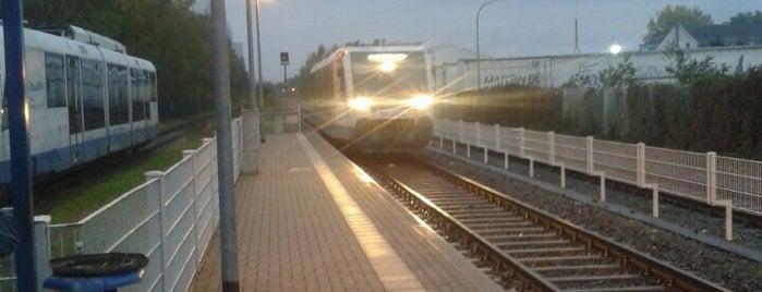 Bahnhöfe im AVV