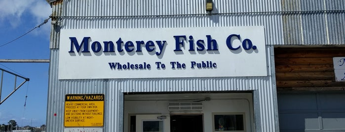 Monterey Fish Company is one of El Camino Real.