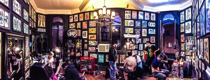 Tattoo Rockers (Bar The Clinic) is one of santiago, chile.