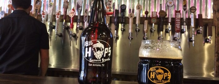 Big Hops Growler Station is one of Bars/Outings.