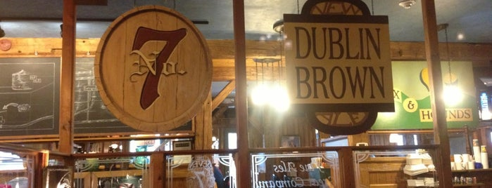 Seven Barrel Brewery is one of places to go.
