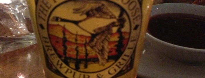 Flying Goose Brew Pub & Grille is one of New England Breweries.
