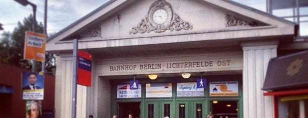 Bahnhof Berlin-Lichterfelde Ost is one of Bahnhoefe.