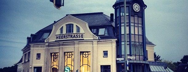 S Heerstraße is one of Grün und Blau Berlin.