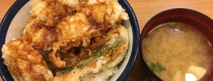 天丼てんや シァルプラット東神奈川店 is one of 飲食店.