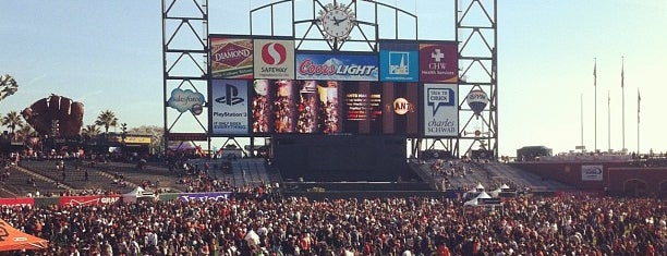 AT&T Park is one of Best Stadiums.