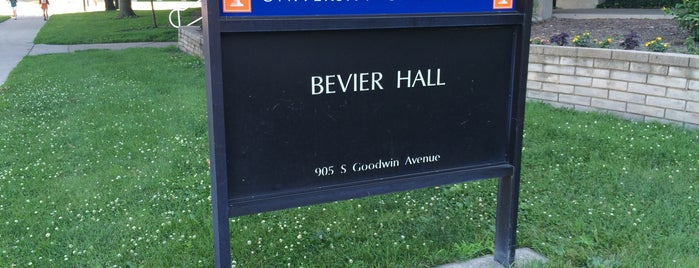 Bevier Hall is one of Frequented.