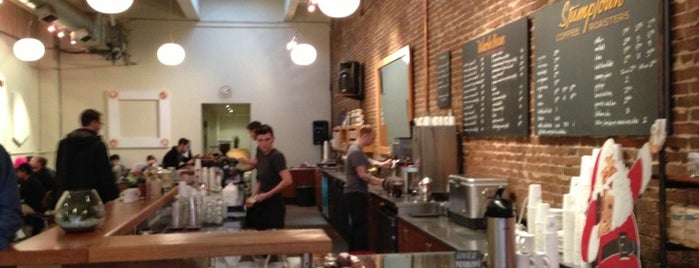Stumptown Coffee Roasters is one of The 15 Best Hipster Places in Portland.
