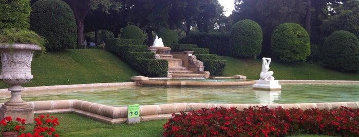 Jardines del Palacio de Pedralbes is one of parcs.