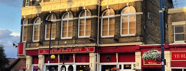 Ye Olde Rose And Crown is one of east east london.
