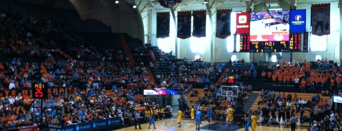 Gill Coliseum (OSU) is one of Sporting Venues To Visit.....