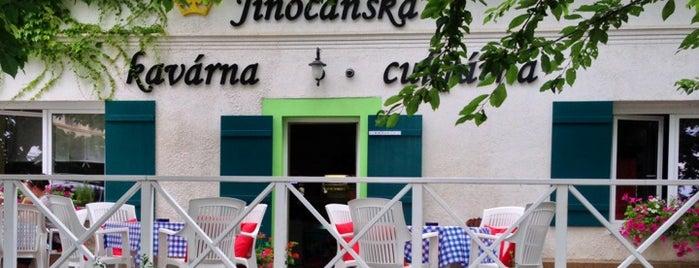 Jinočanská kavárna cukrárna is one of Kavárny.