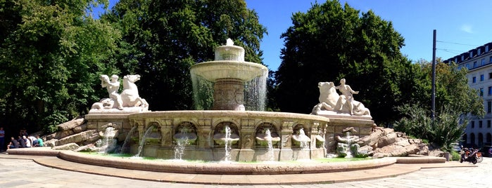 Wittelsbacher Brunnen is one of I Love Munich, munich#4sqCities.
