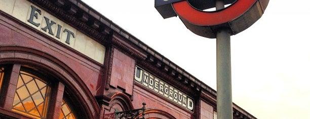 Kilburn Park London Underground Station is one of Tube Challenge.