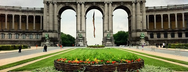 Jubelpark / Parc du Cinquantenaire is one of Brussels Sightseeing.