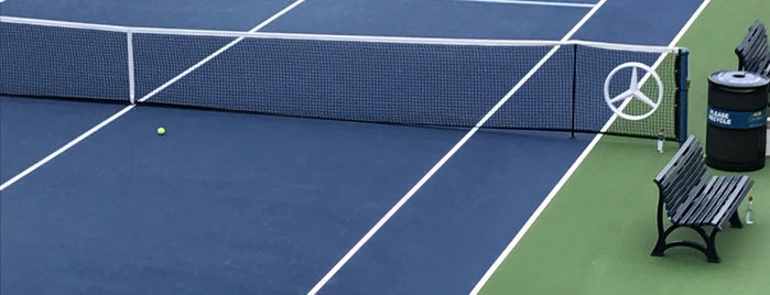 Practice Courts (1-5) - USTA Billie Jean King National Tennis Center is one of US Open Courts.