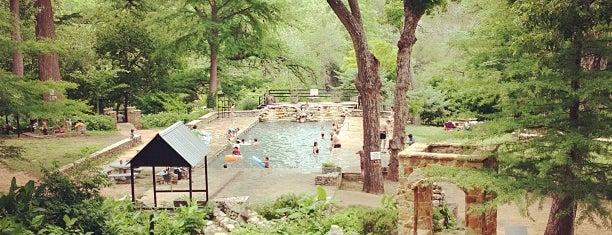 Krause Springs is one of Austin Adventures.