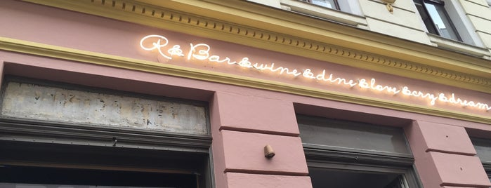 R&Bar is one of Wien.