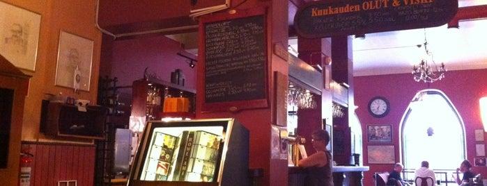 Kievari Kahdet Kasvot is one of Must-visit Nightlife Spots in Tampere.