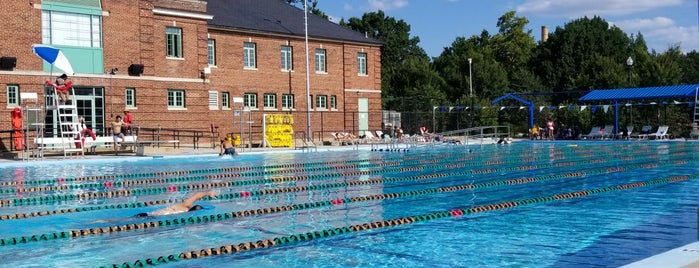 Banneker Pool is one of D.C..