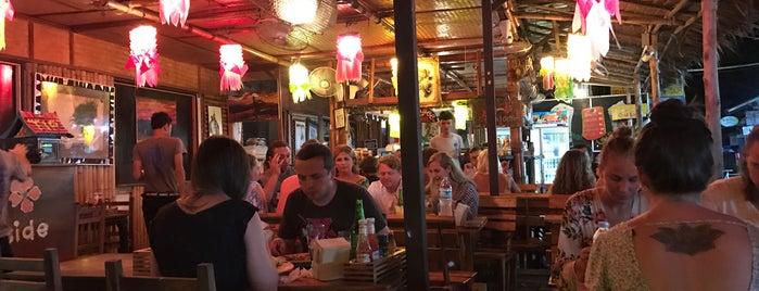 Flametree Restaurant is one of ?.