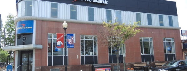 Capital One Bank is one of Secaucus.