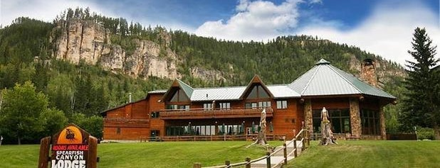 Spearfish Canyon Lodge is one of Rapid City, SD.