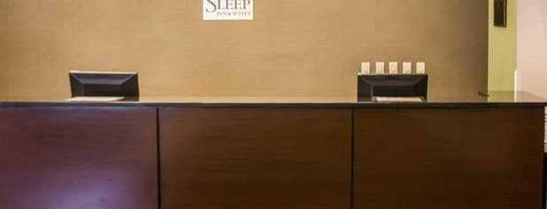 Sleep Inn & Suites is one of Georgia Bound.